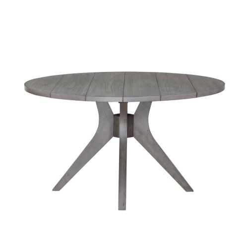 Elora 54 inch Round Dining Table, Grey
