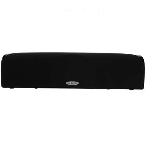 "Blackstone TL Series Compact Center Channel Speaker With Two 2 1/2"" Drivers and a 1/2"" Tweeter in Black"