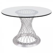 Armen Living Calypso Contemporary Dining Table
