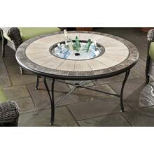 "Revello 48"" Rnd Fire Pit Table Top w/o Cntr Disc"