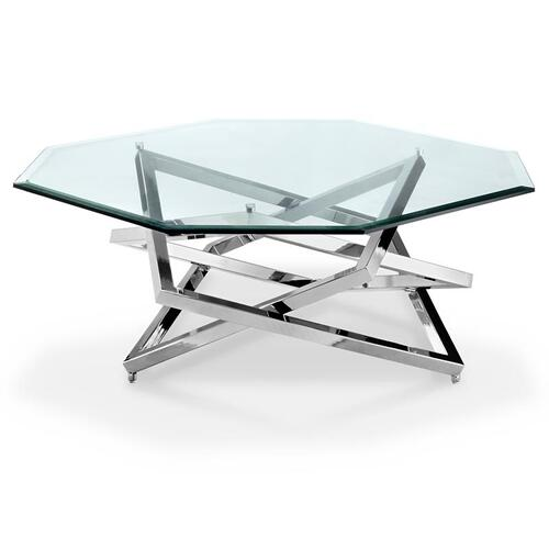Magnussen Home - Octoganal cocktail Table