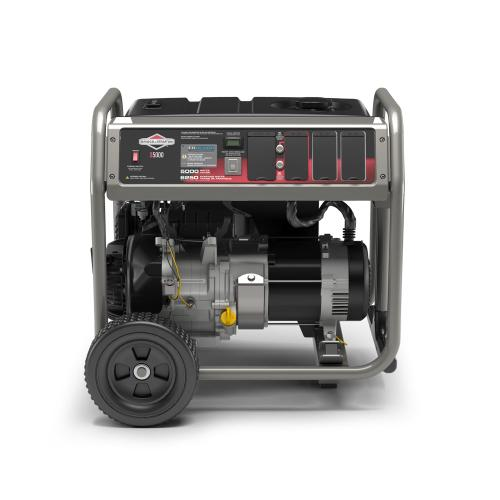 Briggs and Stratton - 5000 Watt Portable Generator with CO Guard ® - Reliably delivers power when you need it most
