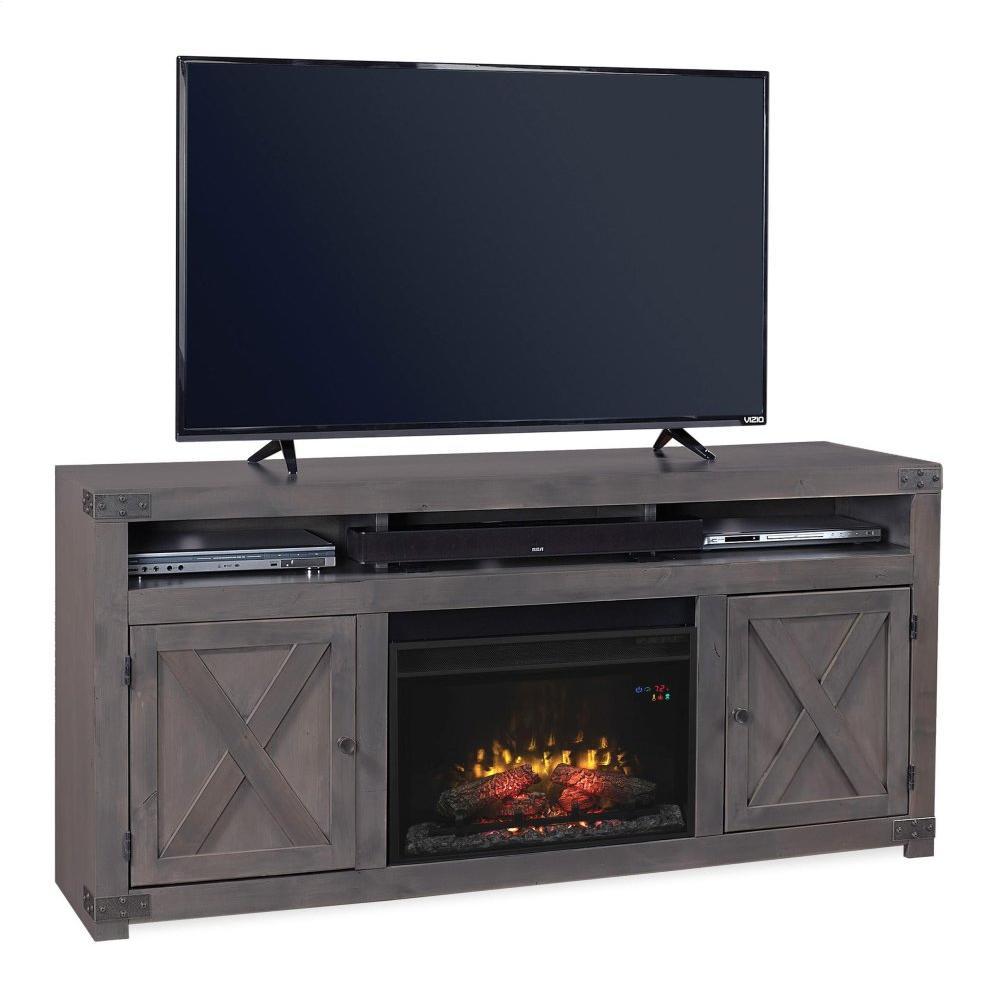 "Aspen Furniture - 72"" Fireplace Console"