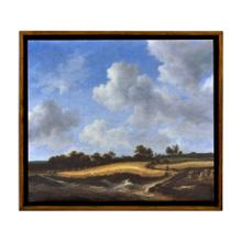 View Product - Wheatfield Painting on a Honey Walnut Frame