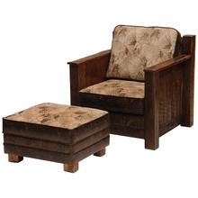 Upholstered Lounge Chair - Standard Leather