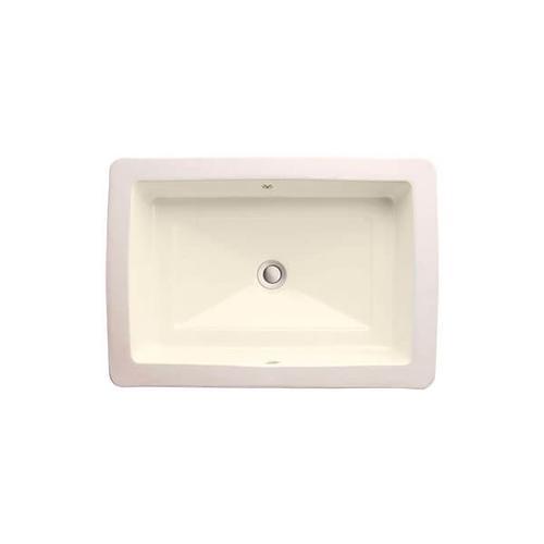 Dxv - Pop Petite Rectangle Under Counter Bathroom Sink - Biscuit