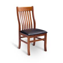 Urbandale II Side Chair with Lower Back, Fabric Cushion Seat