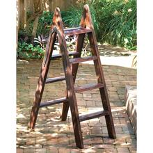 Wood Ladder w/Iron Hinge