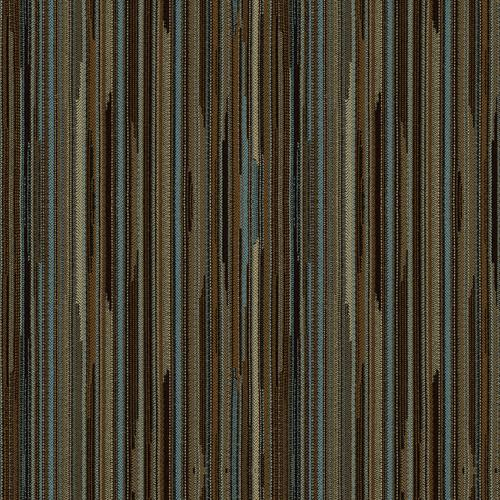 Flash Furniture - 18.5''W Church Chair in Canyon Chocaqua Fabric - Gold Vein Frame