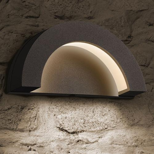 Sonneman - A Way of Light - Crest LED Sconce [Color/Finish=Textured Gray]