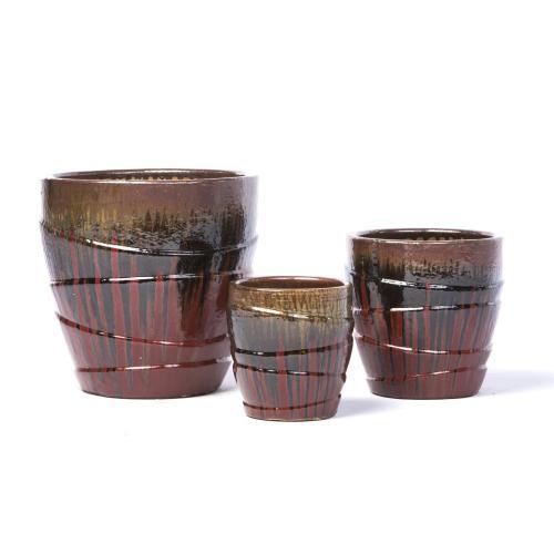 Sinopia Planter - Set of 3