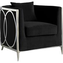 "Circa Velvet Accent Chair - 34"" W x 33"" D x 31"" H"