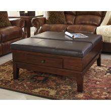 Gately Ottoman Cocktail Table Medium Brown