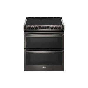 LG Appliances7.3 cu. ft. Smart wi-fi Enabled Electric Double Oven Slide-In Range with ProBake Convection® and EasyClean®