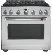 "36"" Dual-Fuel Professional Range with 6 Burners (Natural Gas)"