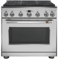 "36"" Dual-Fuel Commercial-Style Range with 6 Burners (Natural Gas)"