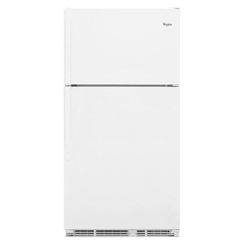 Whirlpool - 18 cu. ft. Top-freezer refrigerator with humidity-controlled crispers