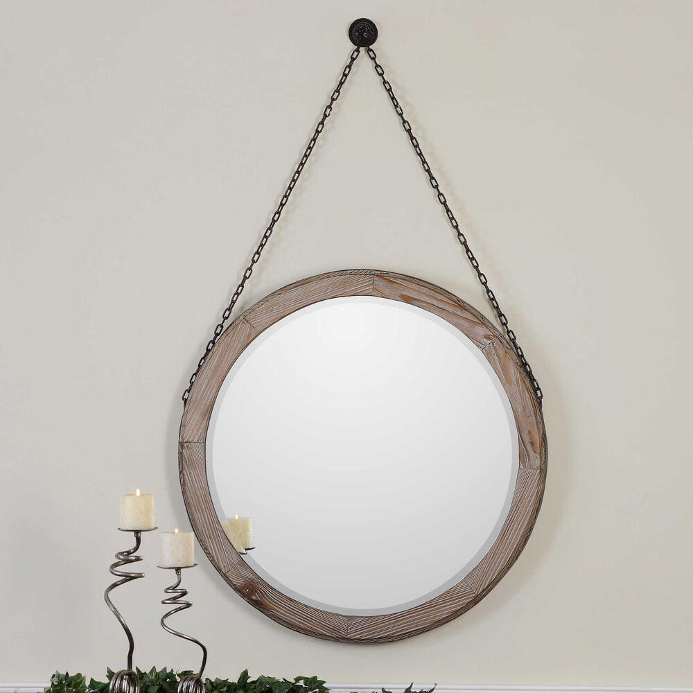 See Details - Loughlin Round Mirror