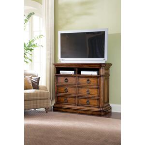San Mateo 6 Drawer Media Chest
