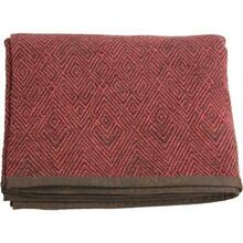 Wilderness Ridge Red Chenille Throw Blanket