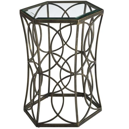 """Circle 19.5"""" Side Table"""