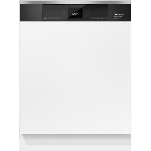 Miele G6935SCiAM Integrated, full-size dishwasher with visible control panel, 3D  cutlery tray and custom panel ready