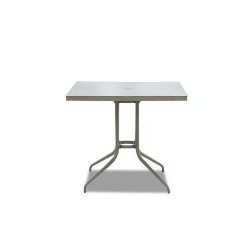 "Klaussner Outdoor - Urban Retreat 36"" Square Bar Table"