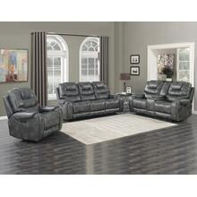 Park Avenue Grey 3 Piece Triple Power Motion Set(Sofa, Loveseat & Chair)