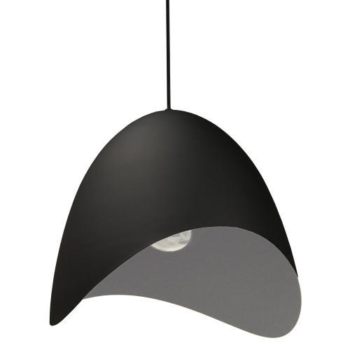 1lt Steel Pendant, Black Finish