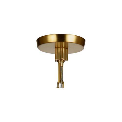 Elmore Cylinder Pendant Burnished Brass