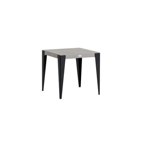 Genval End Table w/Aluminum Top