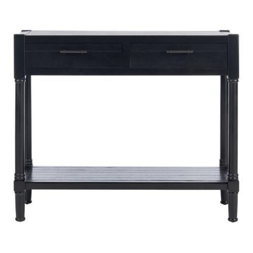 Safavieh - Filbert 2 Drawer Console Table - Black