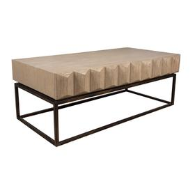 Coffee Table, Available in Modern Grey Finish Only.