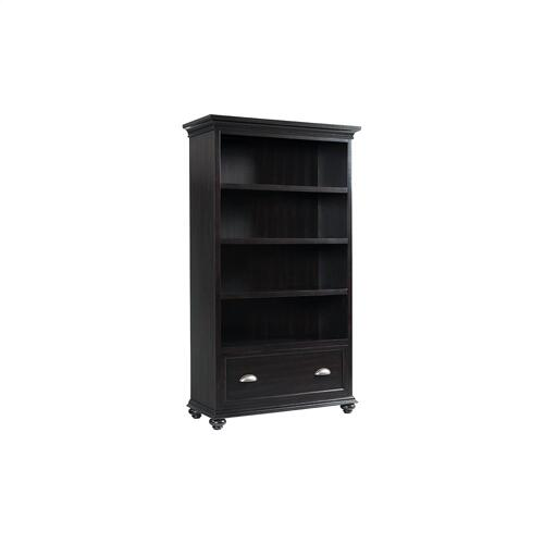 Open Bookcase - Kohl Black Finish