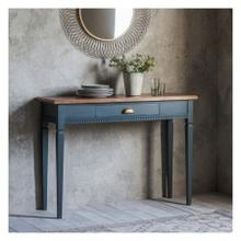 GA Bronte 1 Drawer Console Table Storm