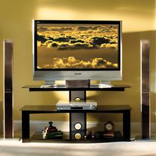 PVS4207HG High Gloss Black Finish Flat Panel A/V System for most Flat Panel TVs up to 50 inches from Bell'O International Corp.