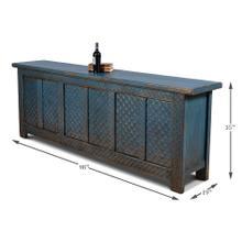 Persian Blue Sideboard