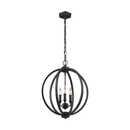 Corinne Medium Pendant Polished Nickel