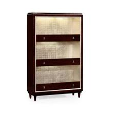 Black Eucalyptus Three-Shelf Bookcase