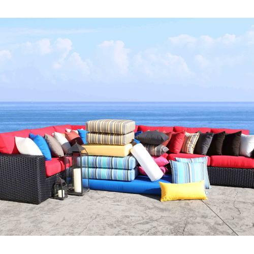 """Cabana Coast - Patio Furniture Cushions & Outdoor Pillows : 18"""" x 18"""" Pillow"""