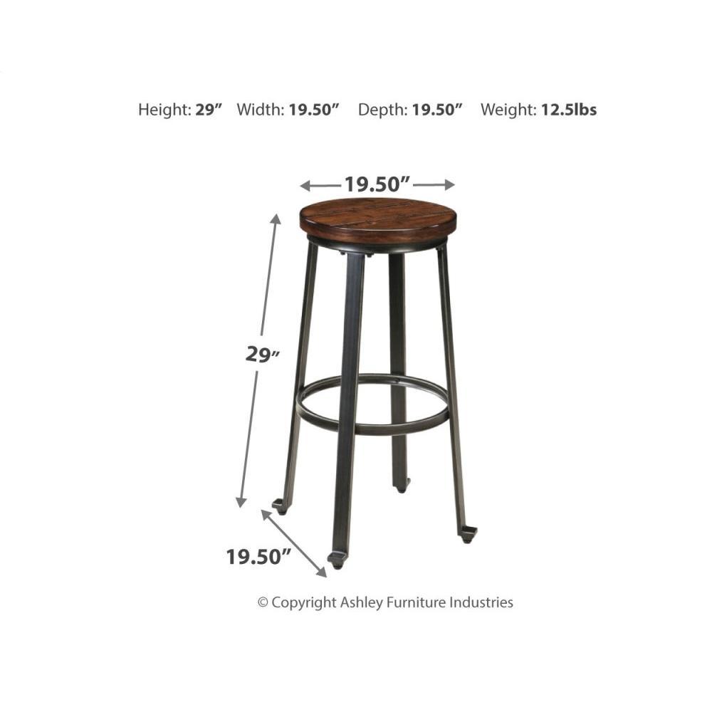 2-piece Bar Stool