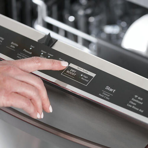 GE Appliances Canada - GE Profile™ Stainless Steel Interior Dishwasher with Hidden Controls Stainless Steel - PDT785SYNFS