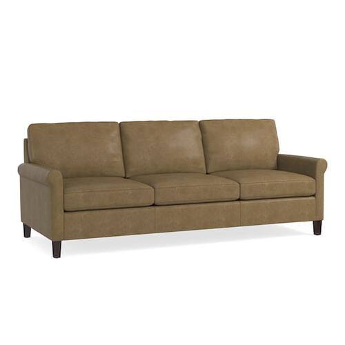 Bassett Furniture - Wellington Leather Great Room Sofa