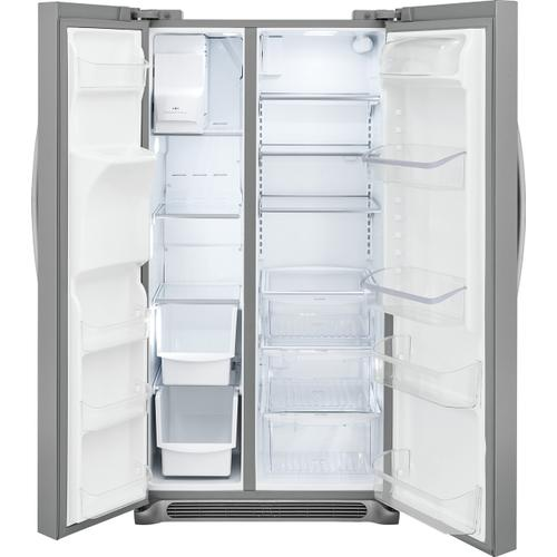 Frigidaire Gallery - Frigidaire Gallery 25.6 Cu. Ft. Side-by-Side Refrigerator