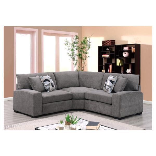 See Details - Clayton Graphite Sectional, U5350