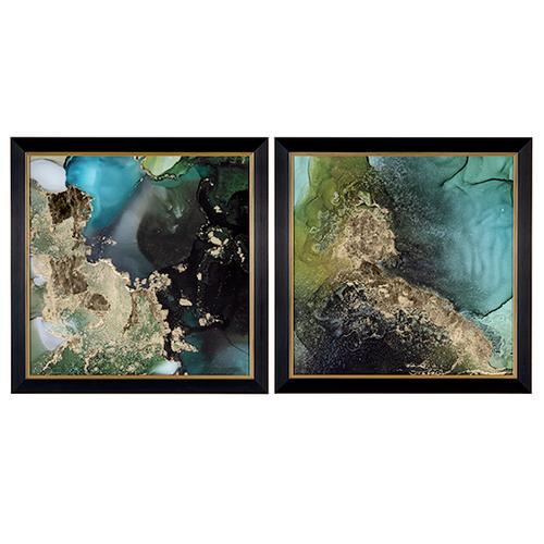 Crestview Collections - Emerald Topo 1 & 2