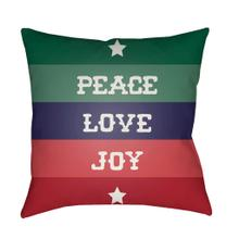 "Peace Love Joy HDY-079 18""H x 18""W"