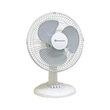 See Details - CZ121 12-inch Oscillating Table Fan, White