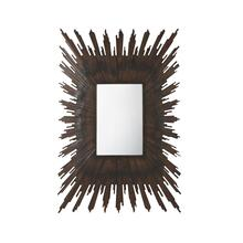 Parquet Sunburst Wall Mirror