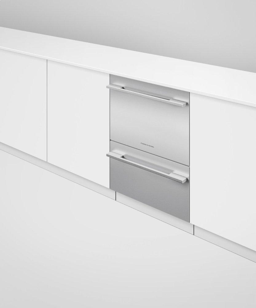 Fisher Paykel DD24DTI9N Fully Integrated Double DishDrawer